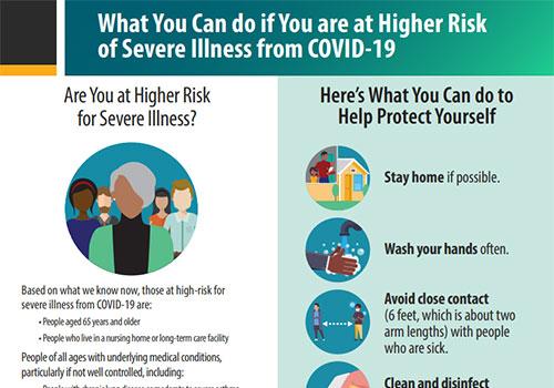如果您属于COVID-19重病高风险人群,该怎么办