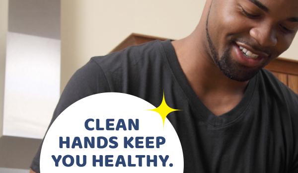 Bàn tay sạch giúp bạn khỏe mạnh
