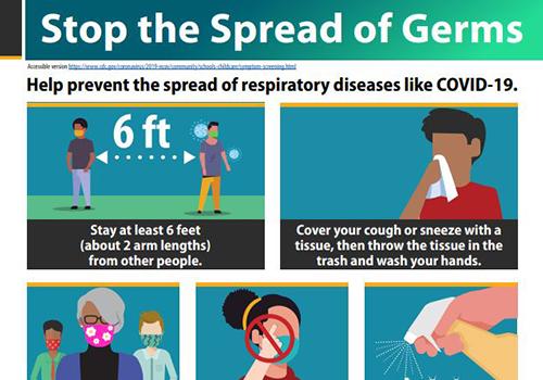 Detenga la propagación de gérmenes