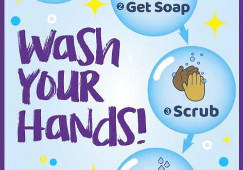 gráfico Lavarse las manos