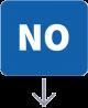 Ícono: NO