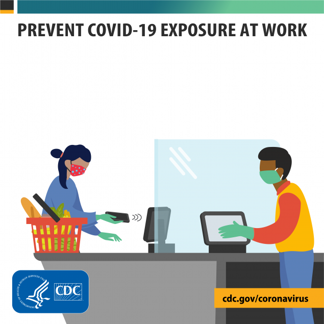 Prevent COVID-19 exposure at work