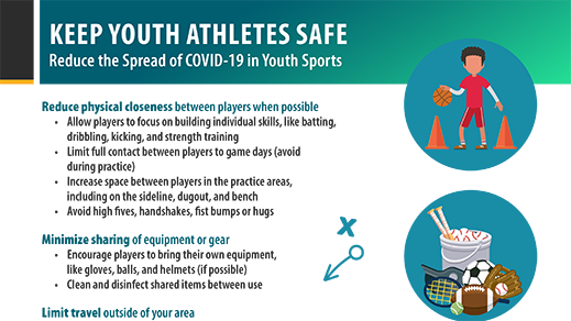 Keep Your Athletes Safe - Reduce the Spread of COVID-19 in Youth Sports