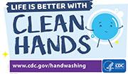 La vida es mejor con las manos limpias
