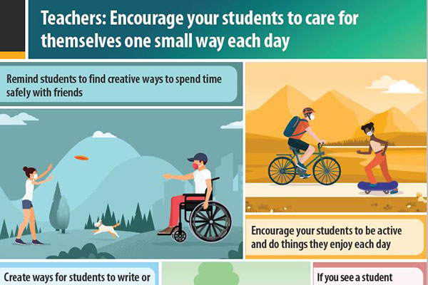 Encourage Teachers to Care for Themselves Poster Thumbnail
