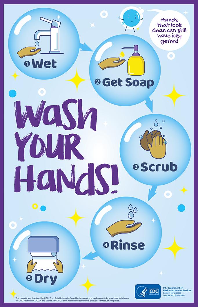 Rửa tay của quý vị!