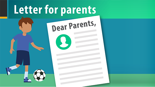 Youth Sports Letter to Parents