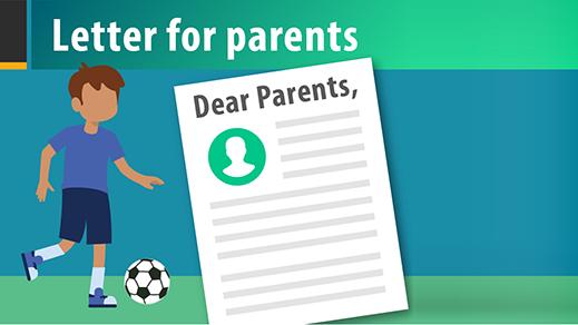 청소년 스포츠 관련 학부모 대상 편지