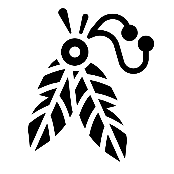 部落羽毛图标