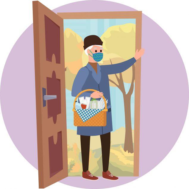guest at door