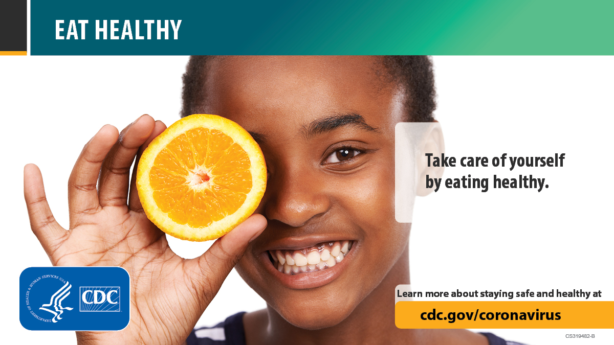 Take time for you. Make time to unwind. Learn more about staying safe and healthy at cdc.gov/coronavirus.