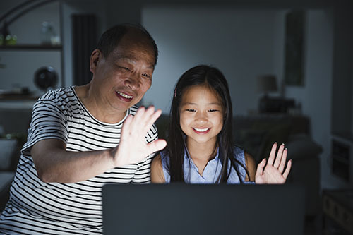 Staying Connected with Family using Technology