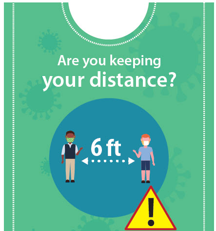 Are you keeping social distance?