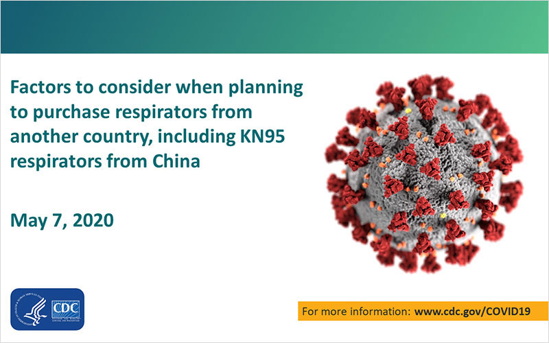 Factors to Consider when Purchasing Respirators From Another Country
