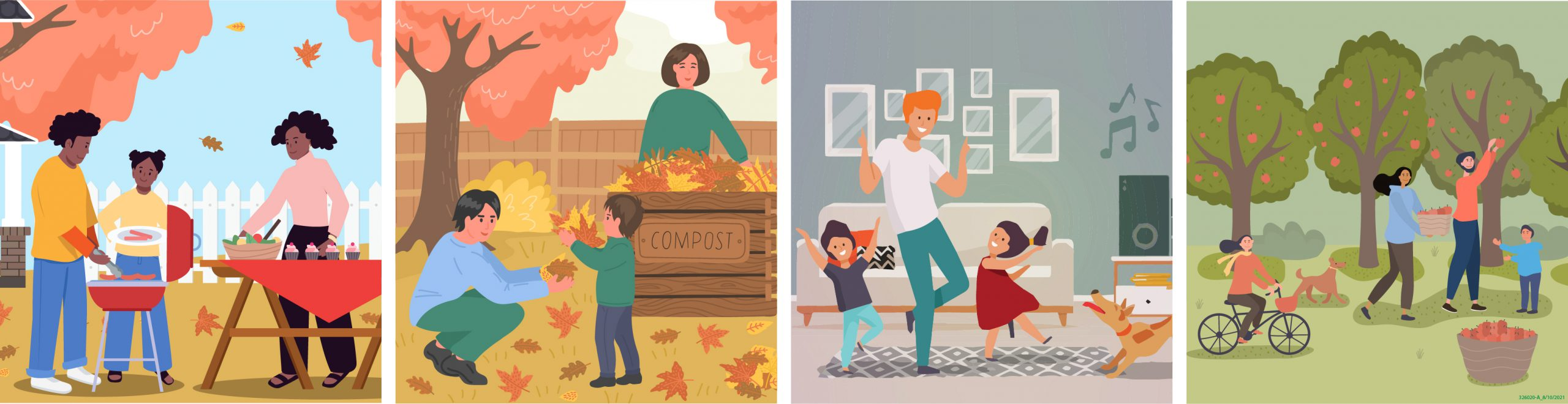 Biểu ngữ về Các gia đình và Covid Mùa thu 2021-01