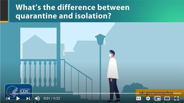 ¿Qué diferencia hay entre cuarentena y aislamiento?