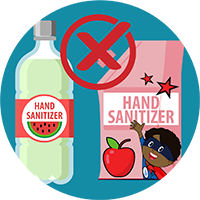 Hand Sanitizer - Food Container
