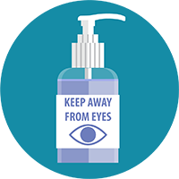 Hand Sanitizer - Out of Eyes