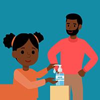 Hand Sanitizer - Supervise Children