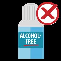 sin alcohol