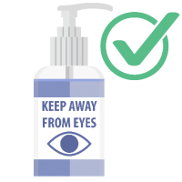 keep away from eyes