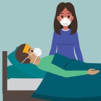 Chăm sóc ai đó bị bệnh vì COVID-19