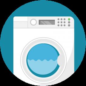Ilustración, lavadora