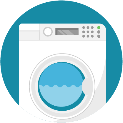 illustration, washing machine