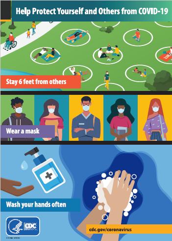 信息图:帮助保护自己和他人免于感染COVID-19