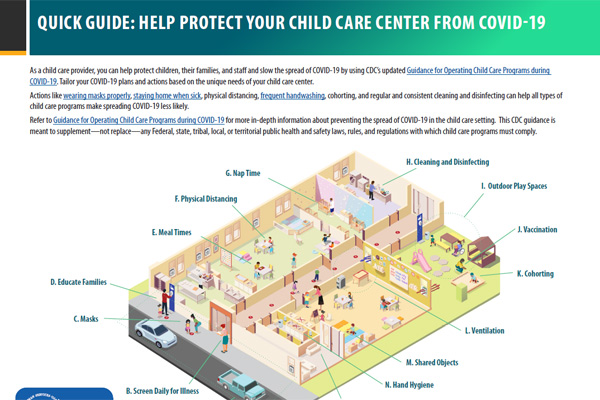 Quick Guide: Help Protect Your Child Care Center From COVID-19