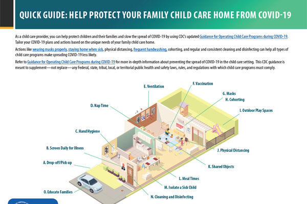 Quick Guide: Help Protect Your Family Child Care Home From COVID-19