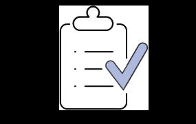 ilustración de una lista de verificación en un portapapeles