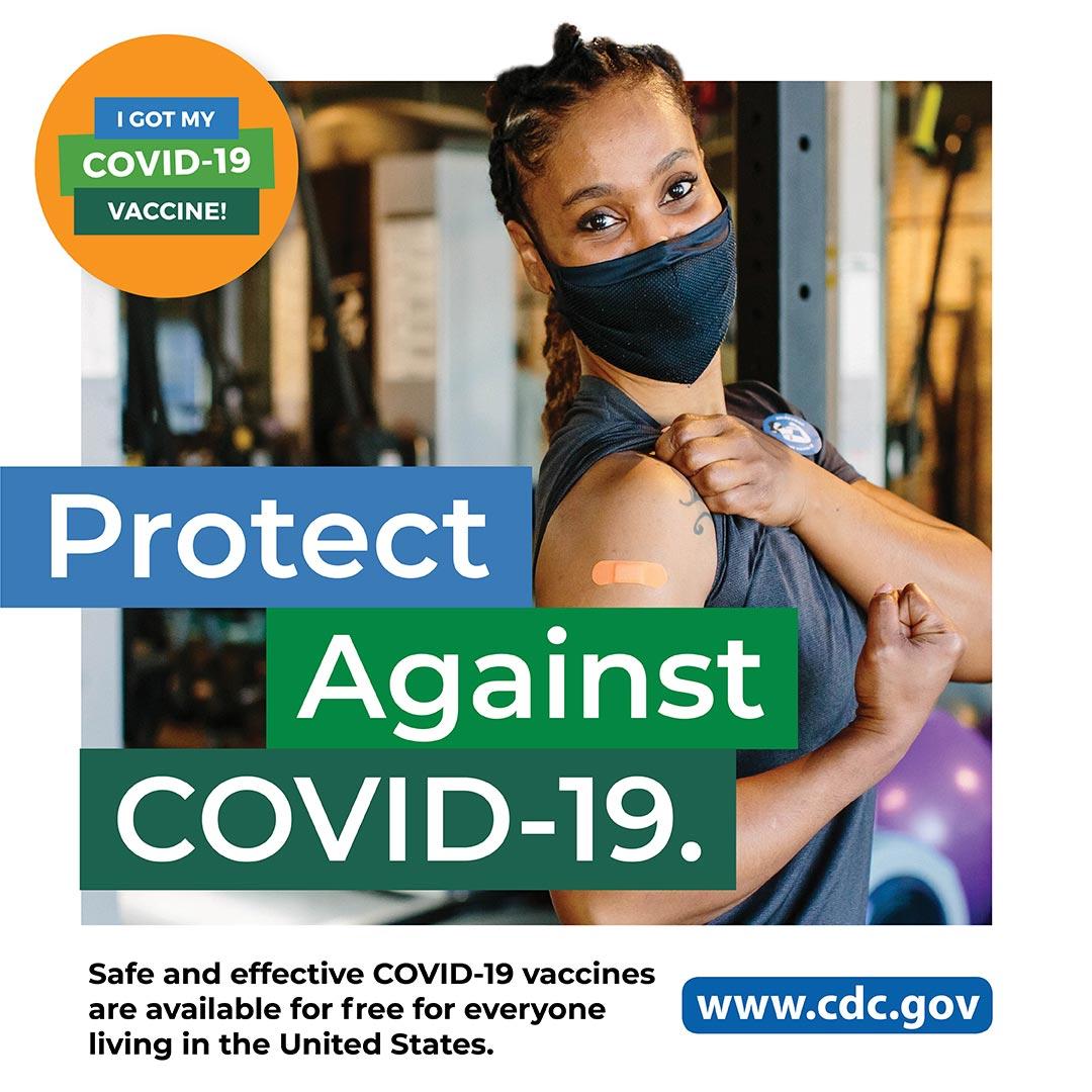 CDC - COVID-19 - Departamento de salud: empleada