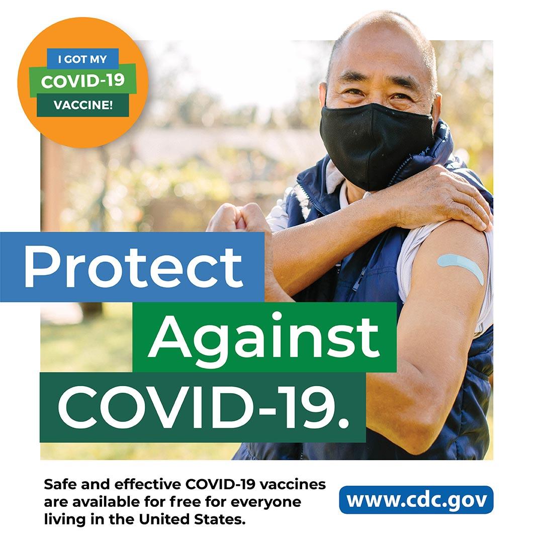 CDC - COVID-19 - Departamento de salud: hombre