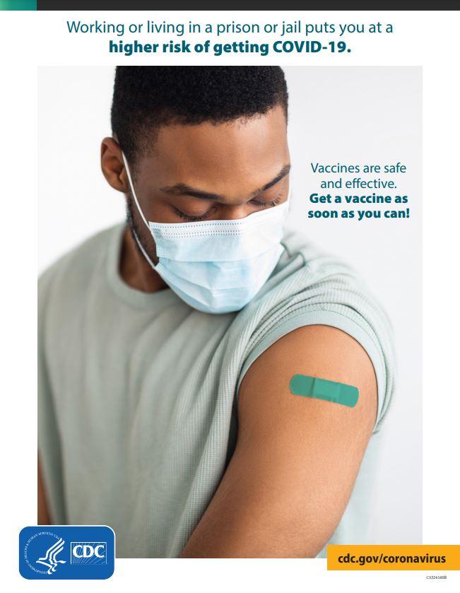 疫苗是安全有效的。请尽快接种疫苗!