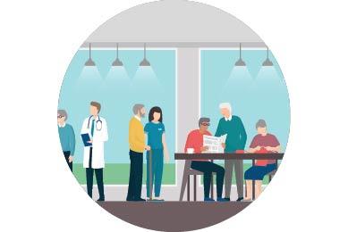 长期护理设施住户