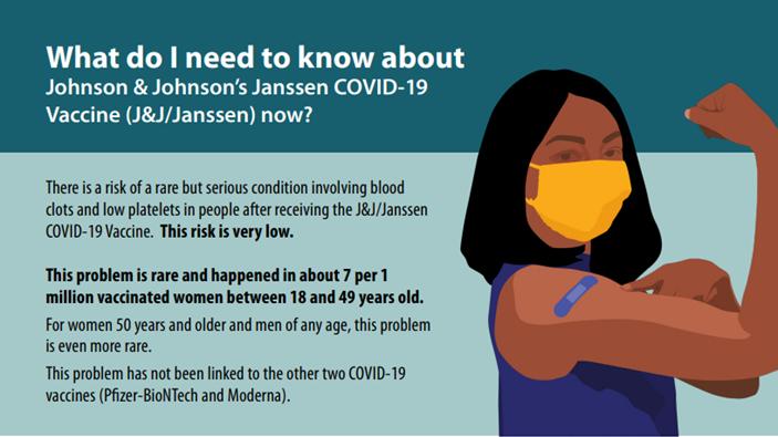 인쇄물 섬네일 - 지금 존슨앤존슨 얀센 COVID-19 백신(J&J/얀센)에 대해 알아야 할 사항은 무엇입니까?