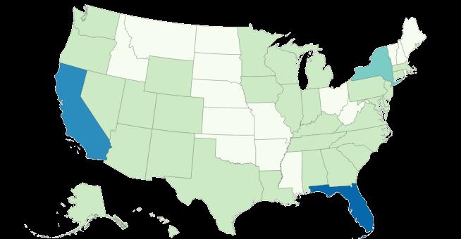 Variante en los EE. UU.
