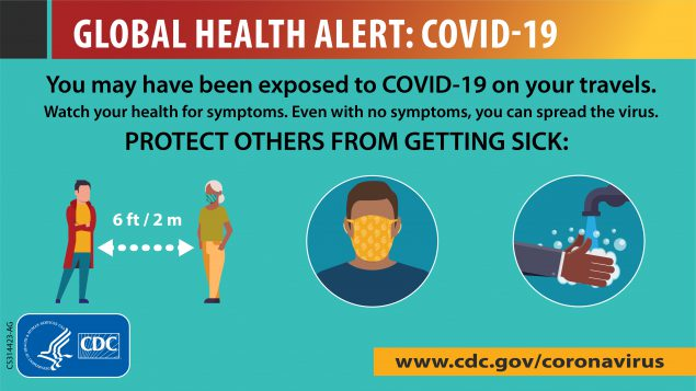 Global Health Alert: Covid-19, Protect others from getting sick.