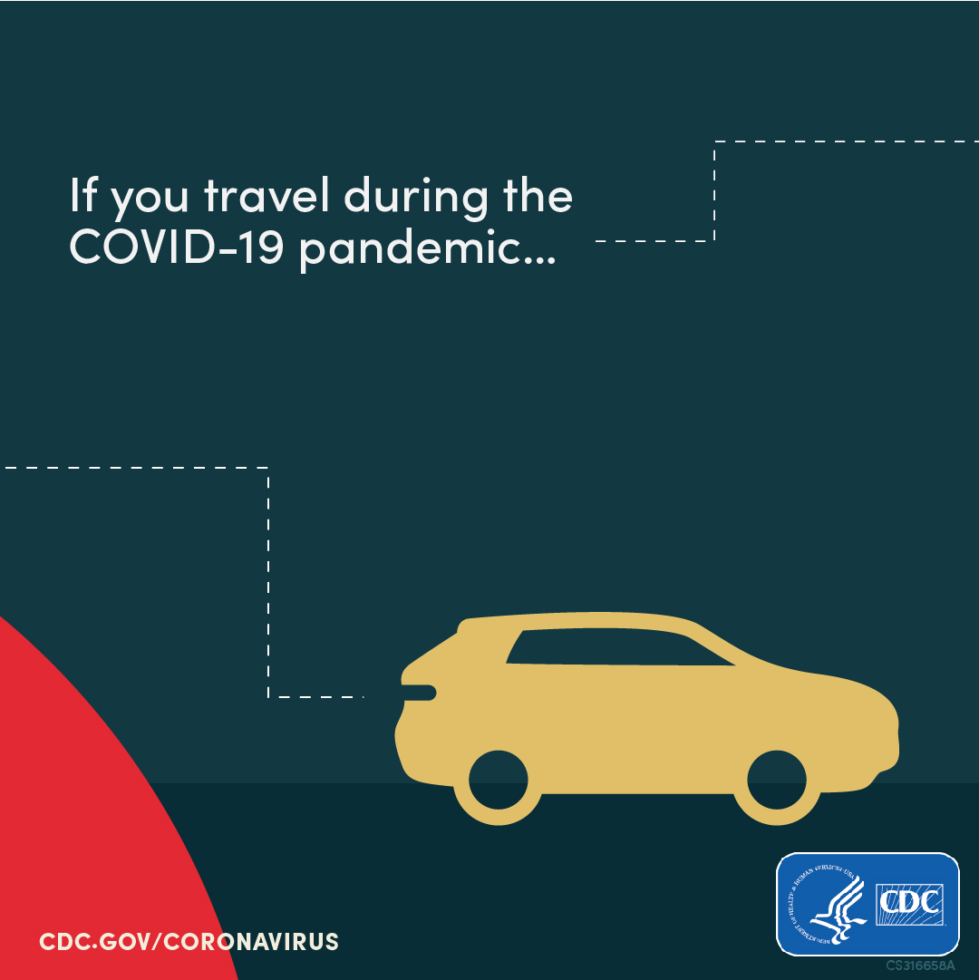 Protect yourself & others if you must travel