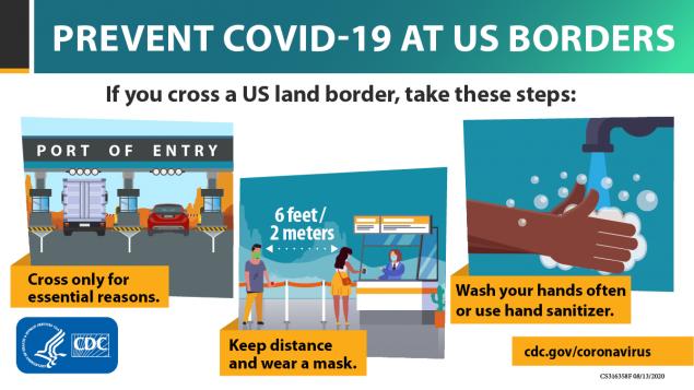 Ngăn ngừa Covid-19 tại biên giới Hoa Kỳ -1200x675