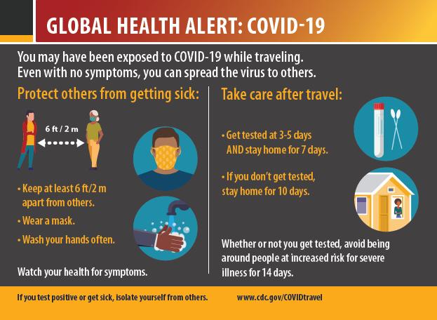 글로벌 보건 고지: COVID-19