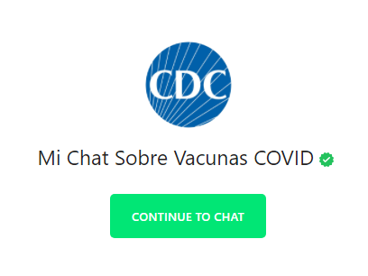 CDC Mi Chat Sobre Vacunas COVID