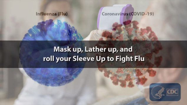 Mask up, Lather Up, and Sleeve Up to Fight Flu