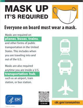 El uso de mascarillas es obligatorio - Vista en miniatura de afiche