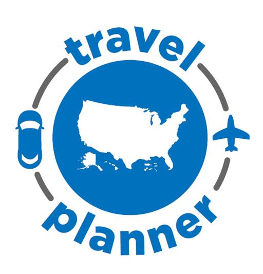 Logotipo del Planificador de viajes