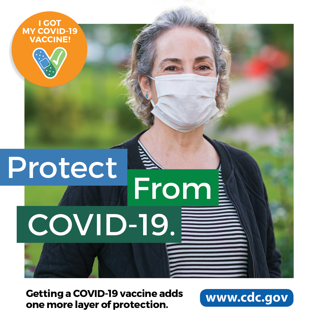 CDC COVID 필수 노동자 - 안전 조끼를 착용한 근로자