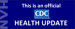 This is an official CDC Health Update