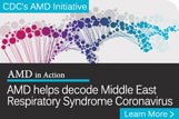 CDC's AMD Initiative. AMD in Action. AMD helps decode Middle East Respiratory Syndrome Coronavirus. Learn More