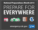 National Preparedness Month 2015 Badge